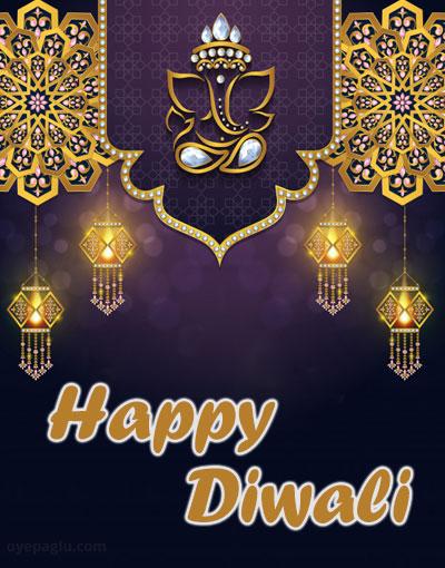 ganesh ji Happy Diwali in advance Images