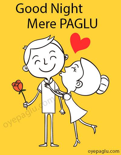 good night mere paglu