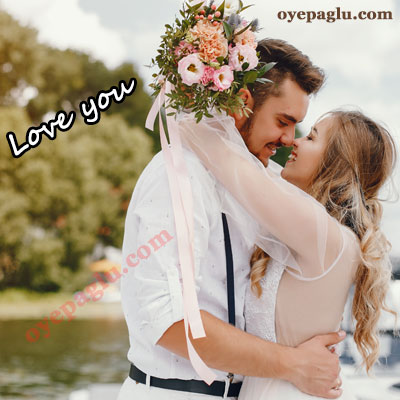romantic dp for whatsapp with flowers in hand