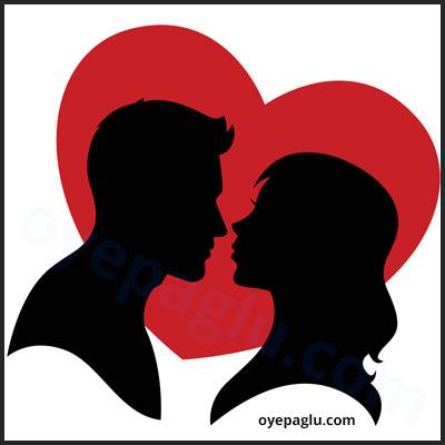 romantic dp for whatsapp of kissing with red heart