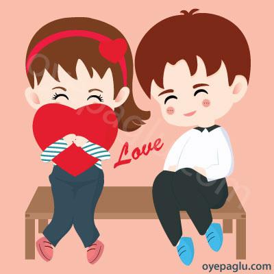 Romantic dp for whatsapp red heart love
