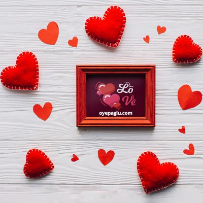 Love frame dp