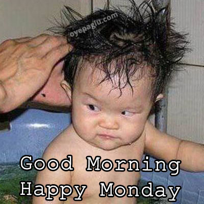 angry baby good morning monday image