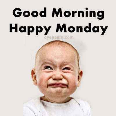 baby cry good morning monday image