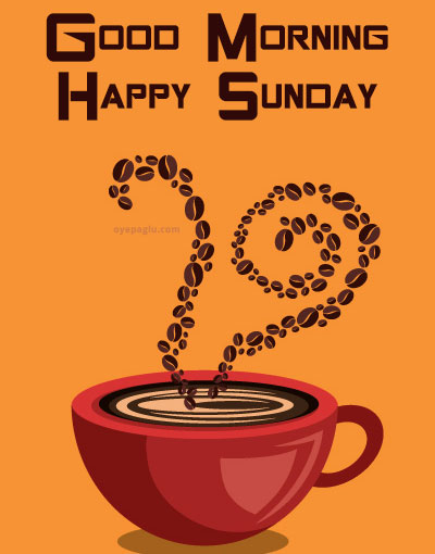 coffee good morning sunday image