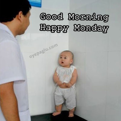 fear baby good morning monday image