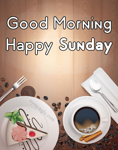 lovely morning with coffee good morning sunday image