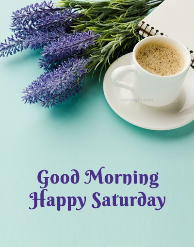 saturday coffee good morning image