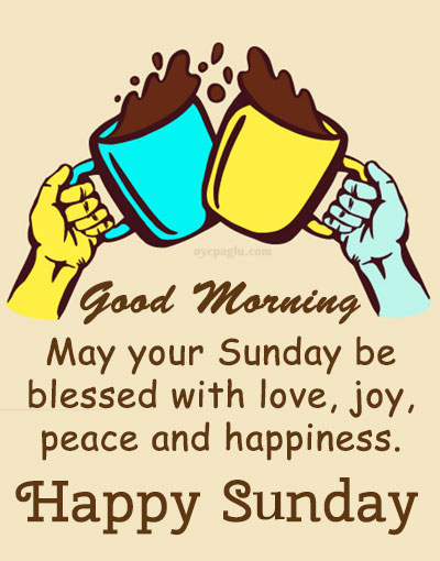 special good morning sunday image