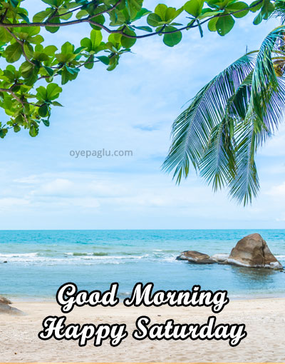 special view happy saturday good morning image