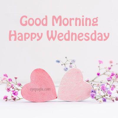 two hearts good morning wednesday image