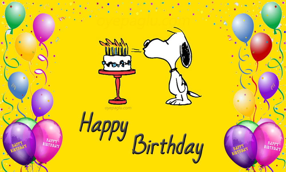 snoopy birthday Images