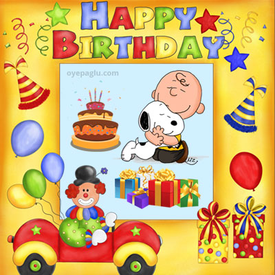 snoopy birthday party images