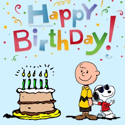 snoopy party happy birthday images