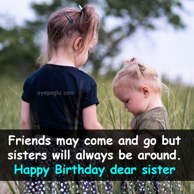 two sisters happy birthday sister image