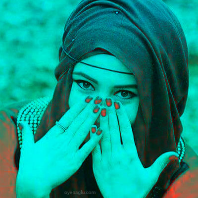 different color muslim girls dp
