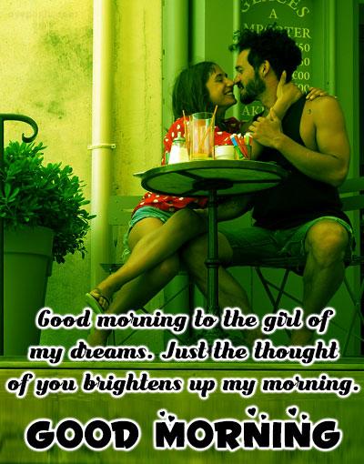 dream girl good morning images for her