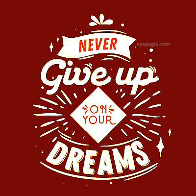 never give up Motivational quotes images
