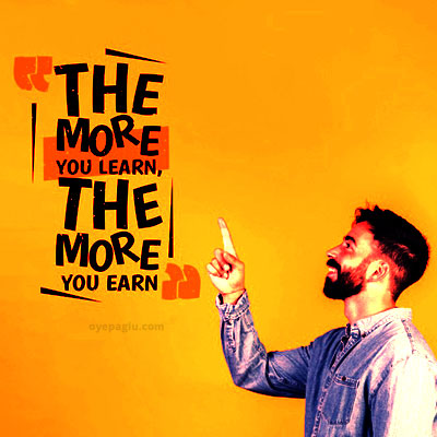 the more you learn Motivation dp quotes