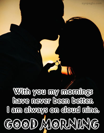 with you good morning images for her