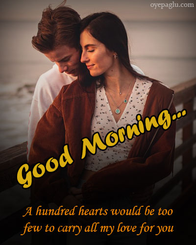 A hundred hearts good morning