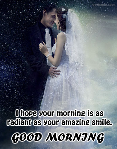 amazing smile good morning images for her