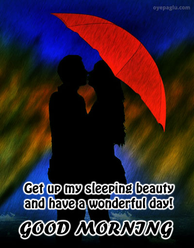 get up my sleeping beauty good morning images for her