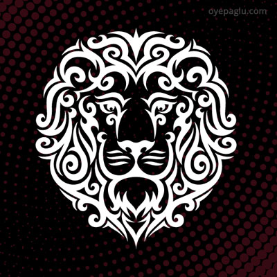 Lion Tattoo for boys
