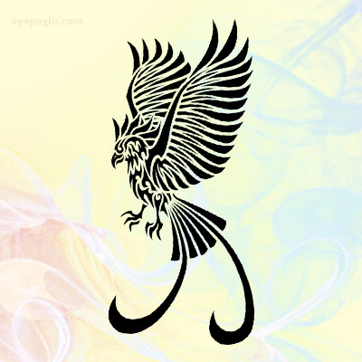 Phoenix tattoo for girls