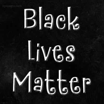 black lives matter black screen