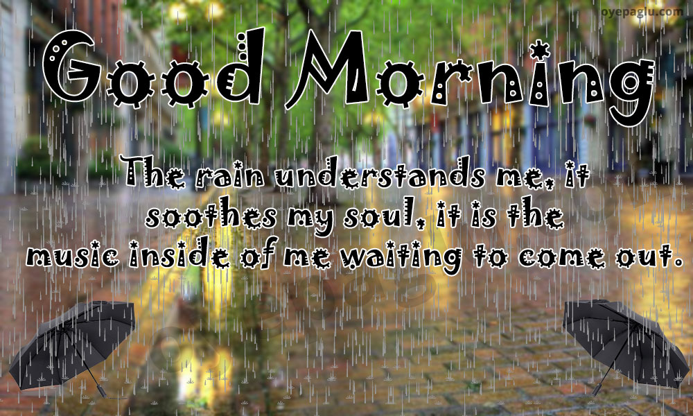 50+ Good morning rain images for free download
