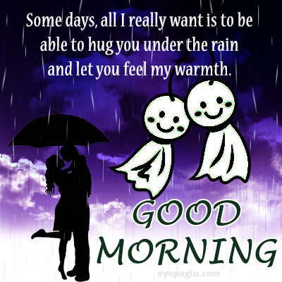 love good morning rain images