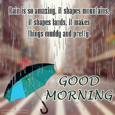 umbrella good morning rain images