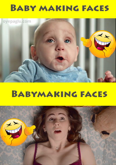 Baby making faces funny adult memes