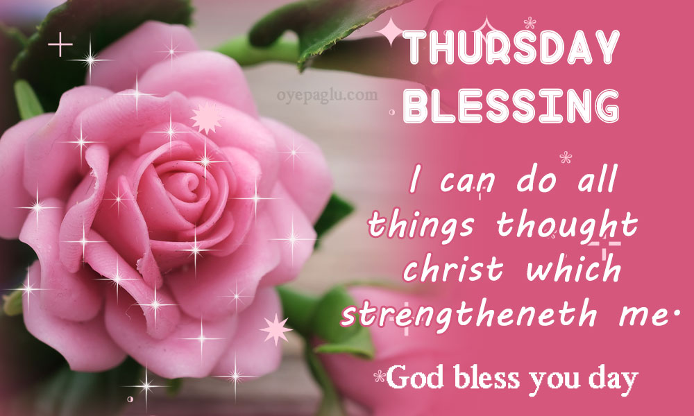50+ Thursday blessings for Free Download in DP size
