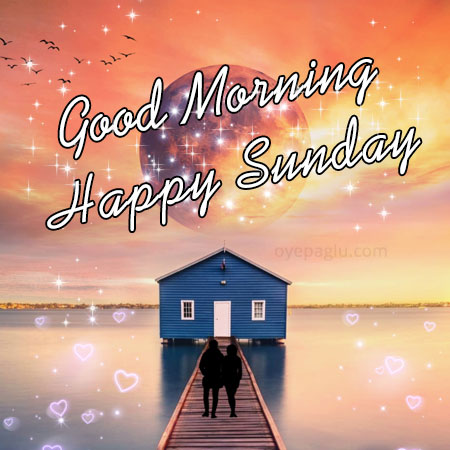 good morning happy sunday image