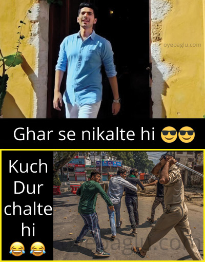 funny corona memes in hindi